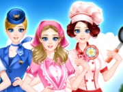 Vocational Girl Dressup