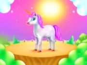 Cute Unicorn Caring And Dressup