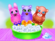 Fluffy Animals Ice Pops Maker