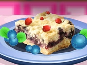 Cooking Blueberry Shortbread Bars