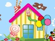Candy House Decoration