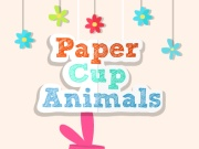 Paper Cup Animals