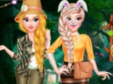 Princess Girls Safari...