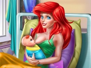 Princess Mermaid Mommy Birth