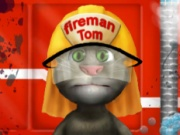 Talking Tom Firetruck Washing
